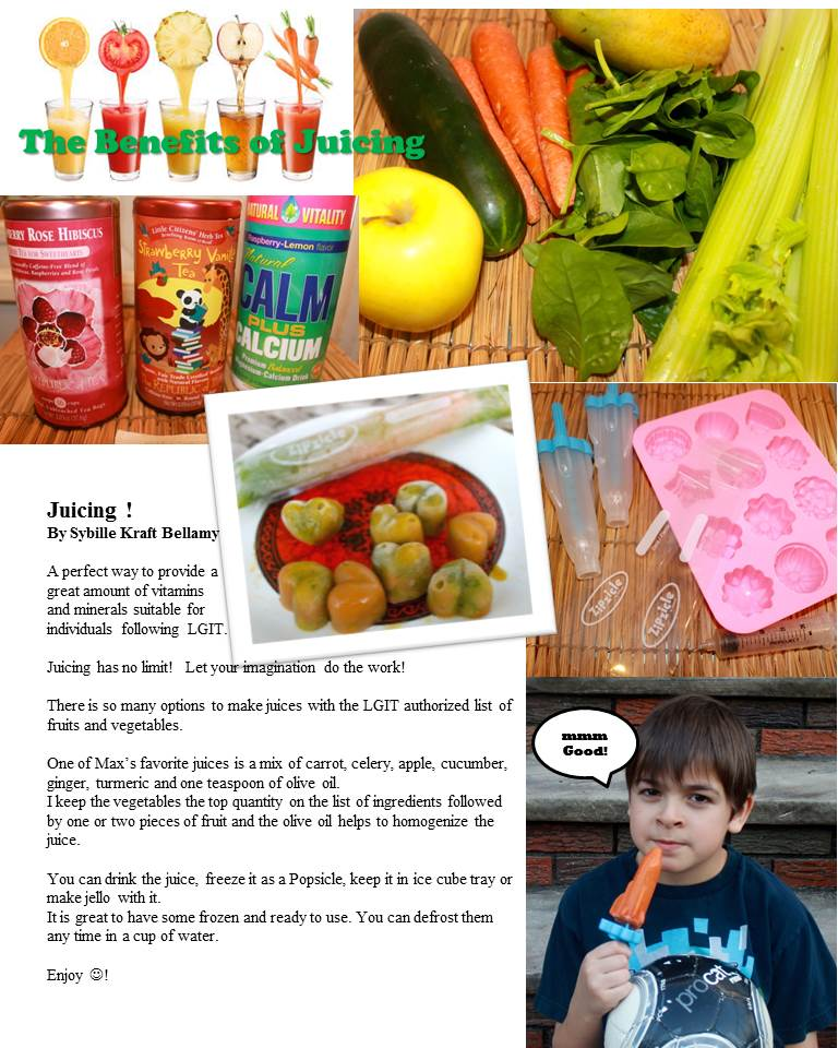 juicing page