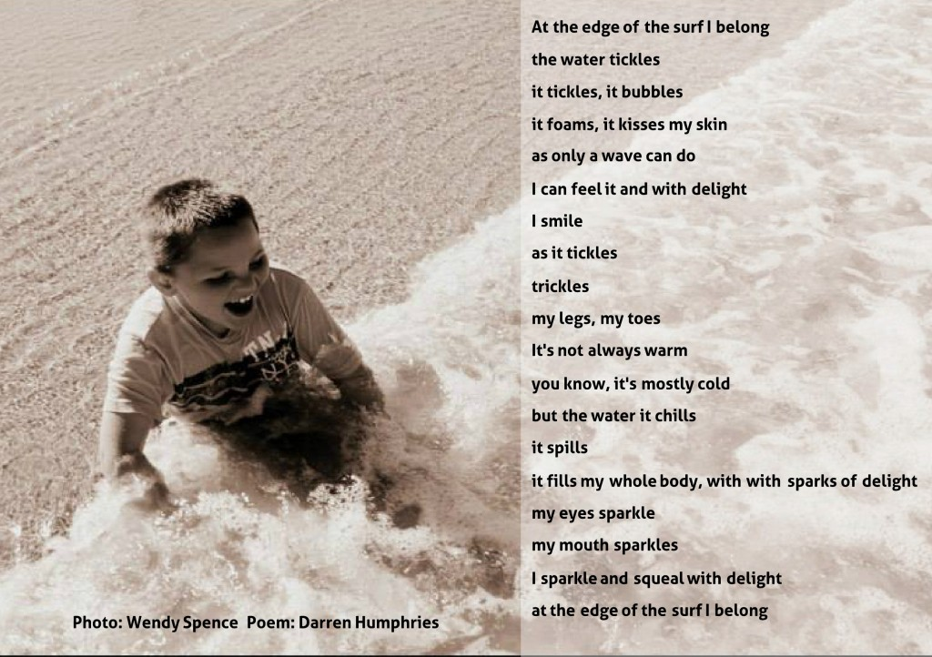 Poem 1 - edge of the surf