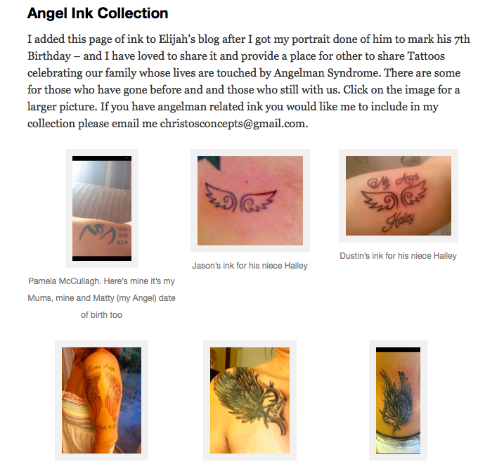 Angel Ink Collection