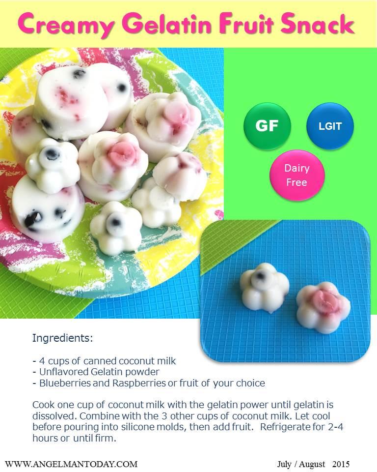 creamy gelatin