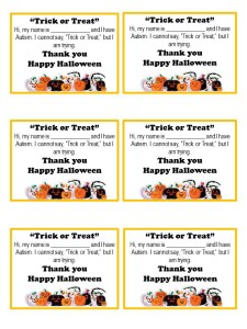 Trick-or-Treat PPT-Autism