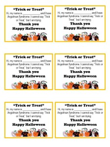 Trick-or-Treat cards - AS